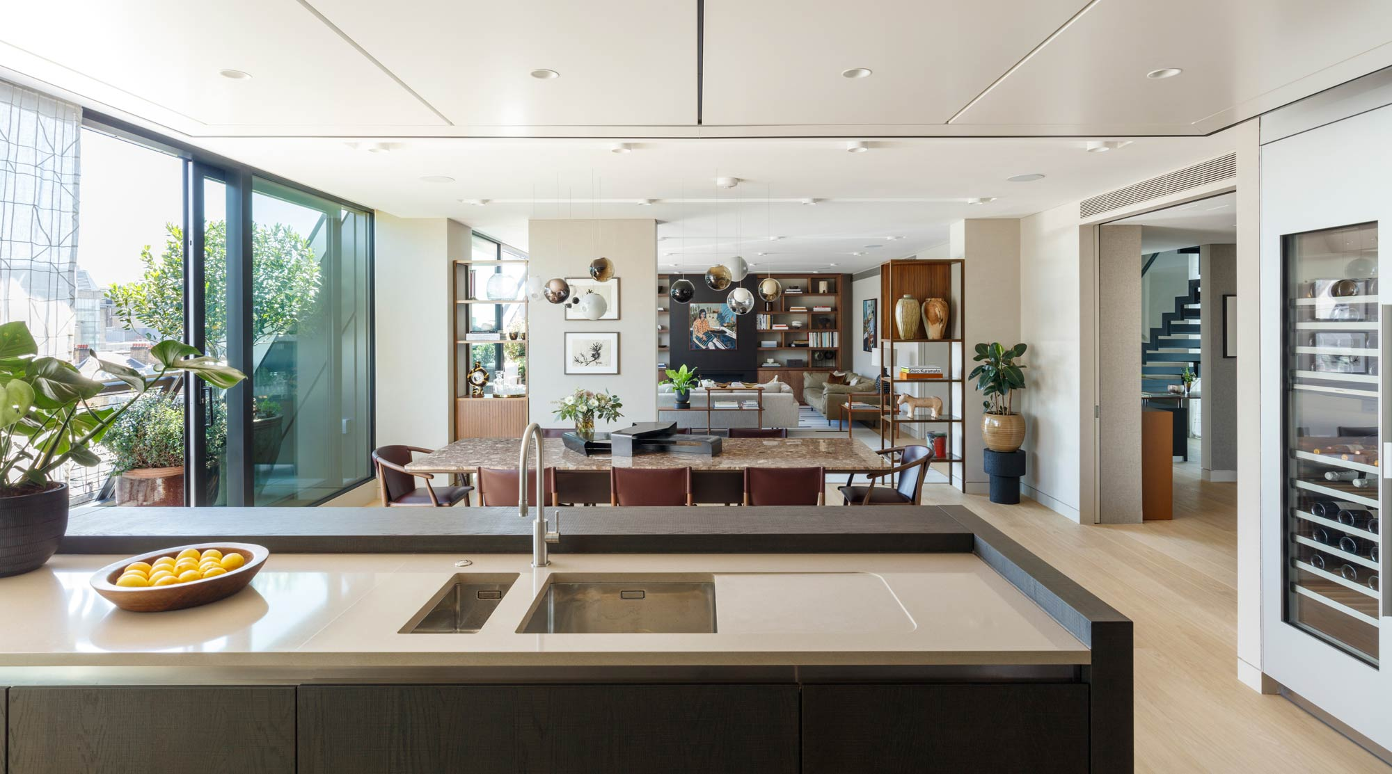 Open Plan Kitchen & Dining Room