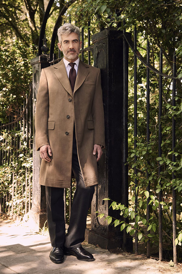 Male Model in Saville Row suit